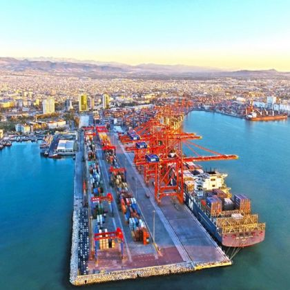 Mersin Limanı rekorları alt üst ediyor!